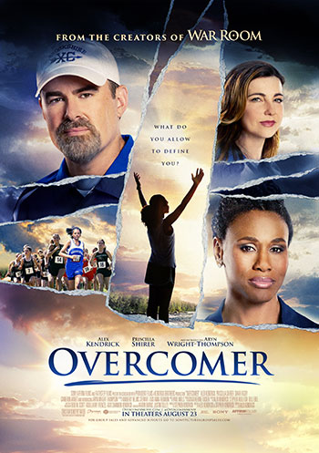 """NATIONAL SONY PICTURES """"OVERCOMER"""" NOW PLAYING 2019 – David"""